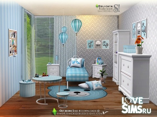 Мебель Delicata Kids от SIMcredible
