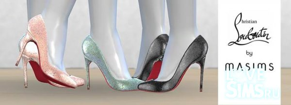 Туфли Pigalle Follies Glitter Dragonfly Pumps