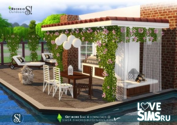 Мебель Recreio outdoor set от SIMcredible