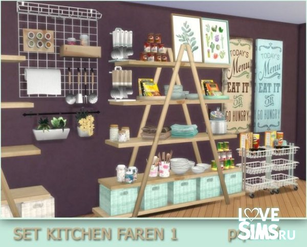 Мебель Faren Kitchen 1 от pqSim4