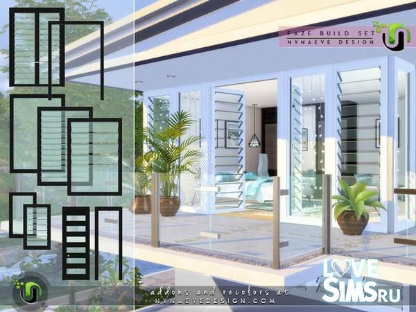 Окна и двери Faze Build от NynaeveDesign