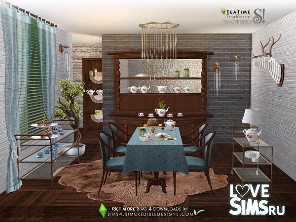 Мебель Tea Time от SIMcredible