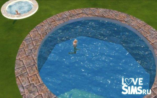 Круглая рама для бассейна от fire2icewitch