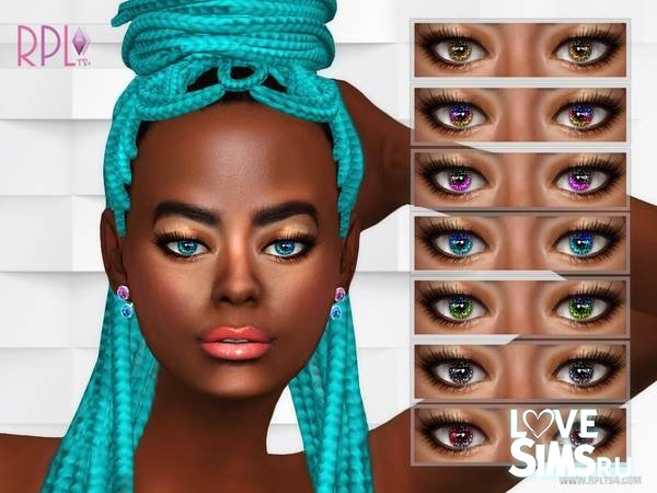 Линзы Glitter Eyes 01 от RobertaPLobo
