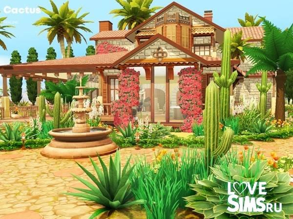 Дом Cactus от Pralinesims