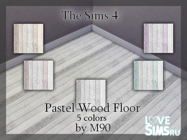 Деревянный пол Pastel Wood Floor
