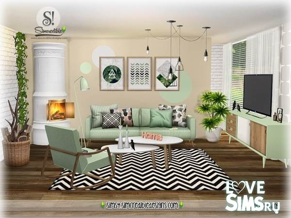 Гостиная ScandiFever Living room