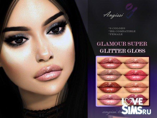 Помада GLAMOUR SUPER GLITTER от ANGISSI