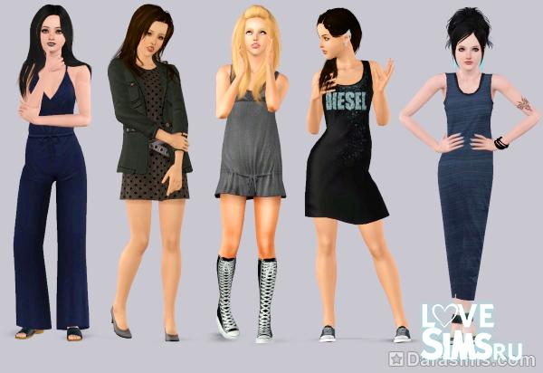 Видео-анонс The Sims 3 Diesel