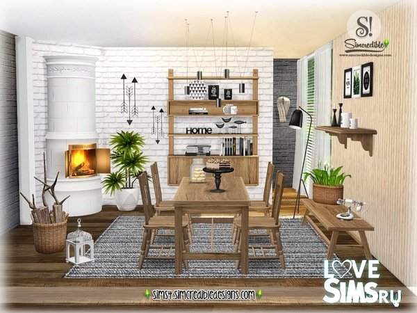 Столовая ScandiFever Dining от SIMcredible