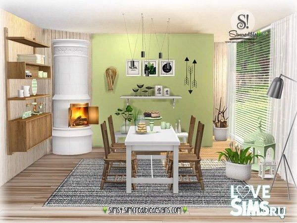 Столовая ScandiFever Dining от SIMcredible