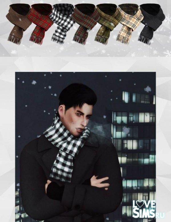 симс 4 шарф