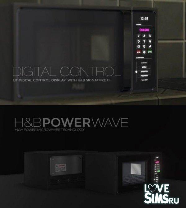 Микроволновка H&B MacroWave oven