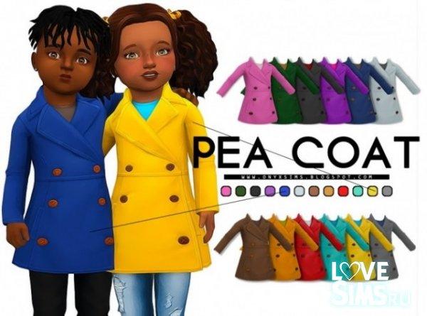 Детское пальто Pea Coat от KiaraRawks