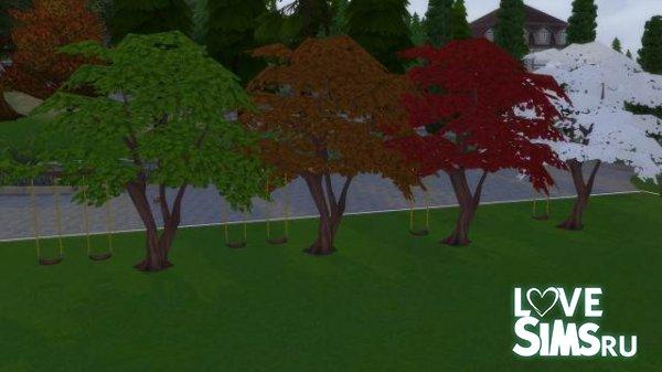 Качели на деревьях от Sisselin