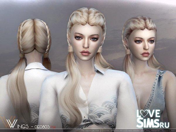 Прическа WINGS-OE0805