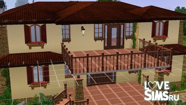 Дом в Тайском стиле от zumerhak