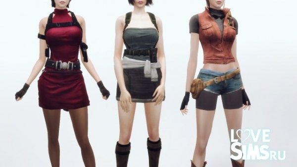 Наряды Resident Evil от plazasims
