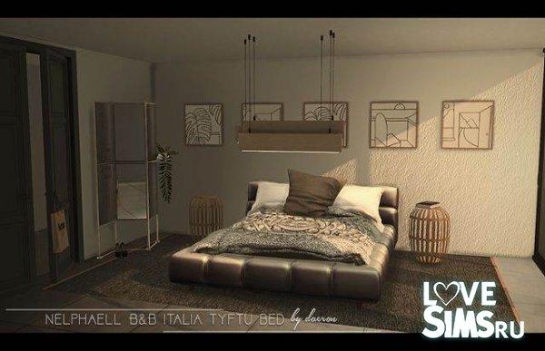 Кровать и люстра от Daer0n