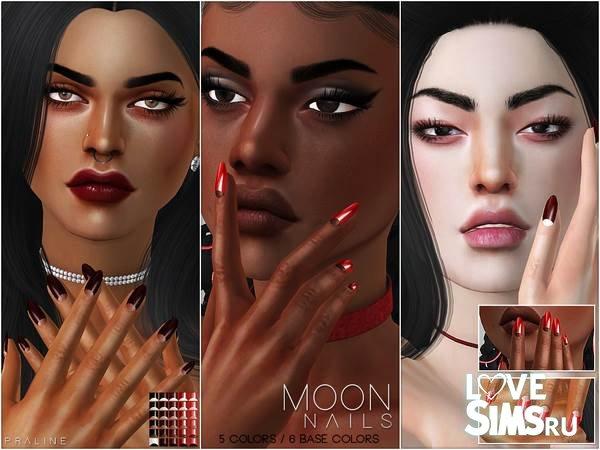 Ногти Moon Nails N23 от Pralinesims