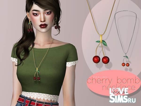 Ожерелье Cherry Bomb от Pralinesims