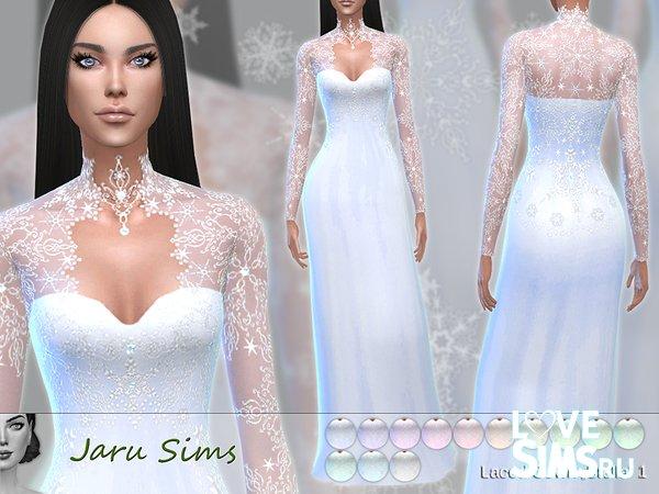 Платье Laced Gown Stella 1 от Jaru Sims
