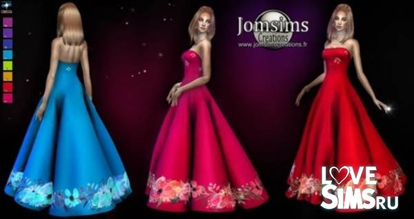 Платье Elsathyne от Jomsims