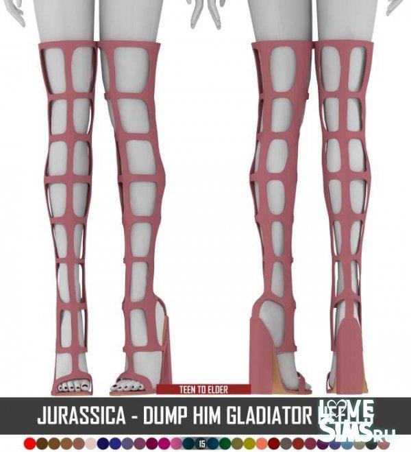 Обувь GLADIATOR от Jurassica