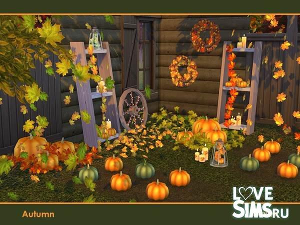 Осенний декор Autumn от soloriya