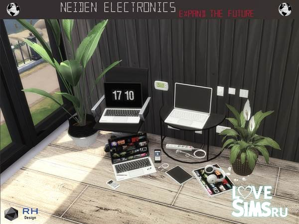 Декор NEIDEN Electronics от RightHearted