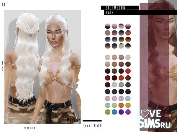 Прическа Stormborn от LeahLillith