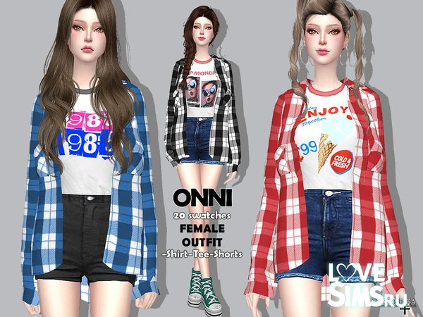 Наряд ONNI - Outfit от Helsoseira