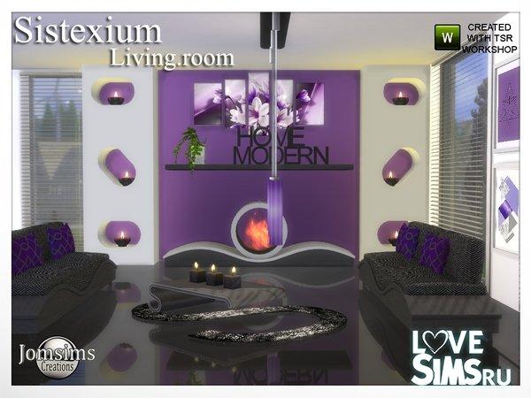 Гостиная Sistexium от jomsims
