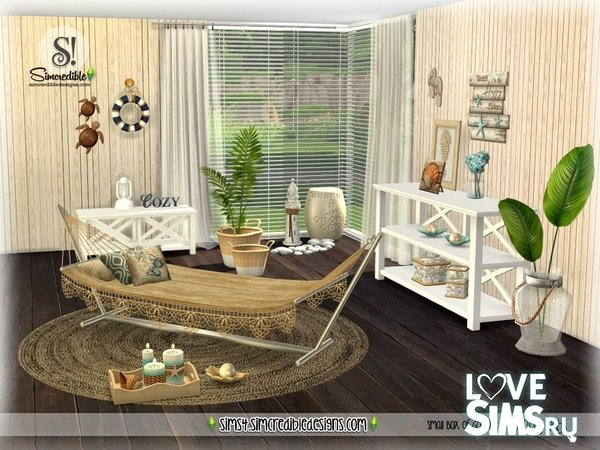 Мебель Beachy Days от SIMcredible