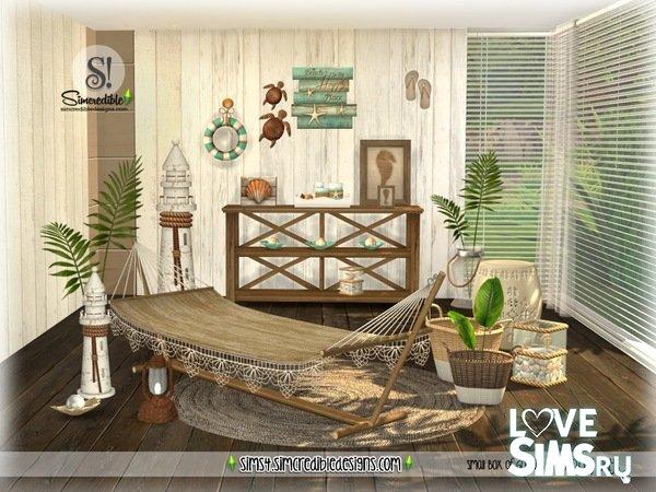 Мебель Beachy Days от SIMcredible