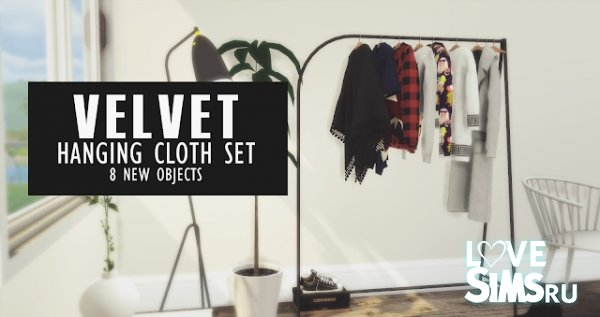 Декор Velvet Hanging Cloths