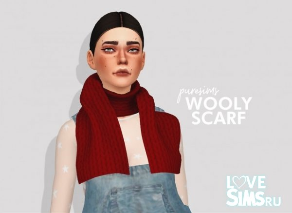 Шарф wooly scarf от puresims