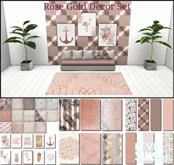 Декор Rose Gold от TaTschu