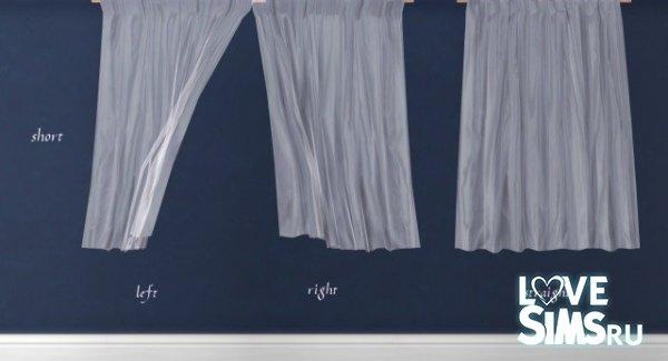Шторы Sheer Curtains от Pocci