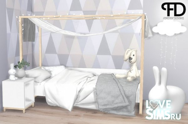 Мебель Mia Toddler Room от foreverdesigns
