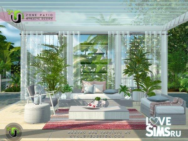 Мебель Zone Patio от NynaeveDesign