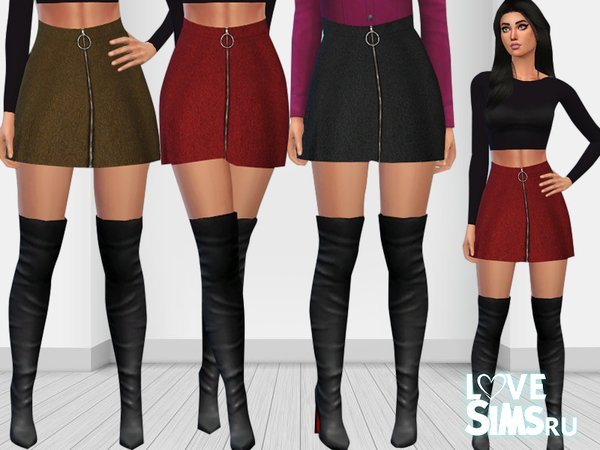 Топ и мини юбка от Saliwa