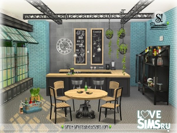 Мебель Industrial Bar от SIMcredible