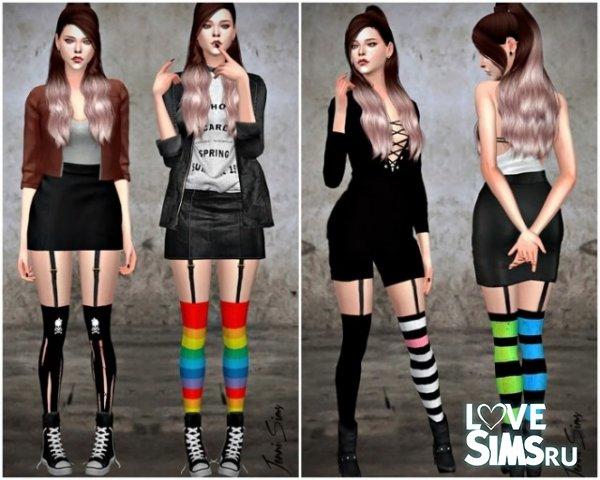 Чулки Tights Socks Dynamic от JenniSims