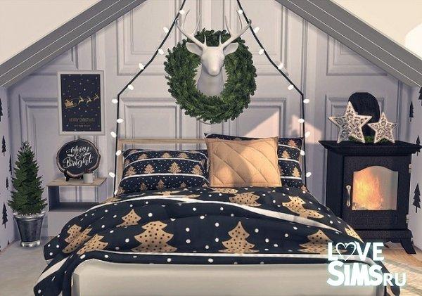 Постельное белье Wintry Bedroom от Sooky