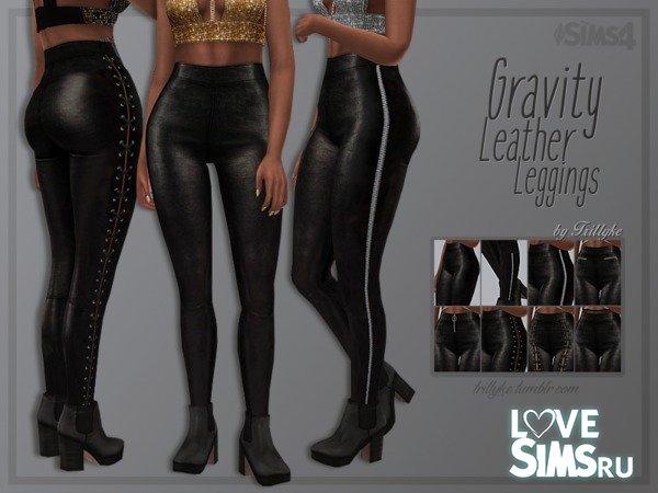 Легинсы Gravity Leather от Trillyke