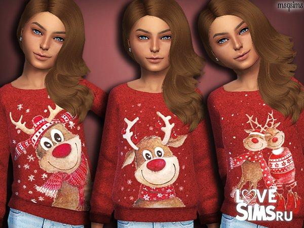 Свитер Reindeer от MSQSIMS