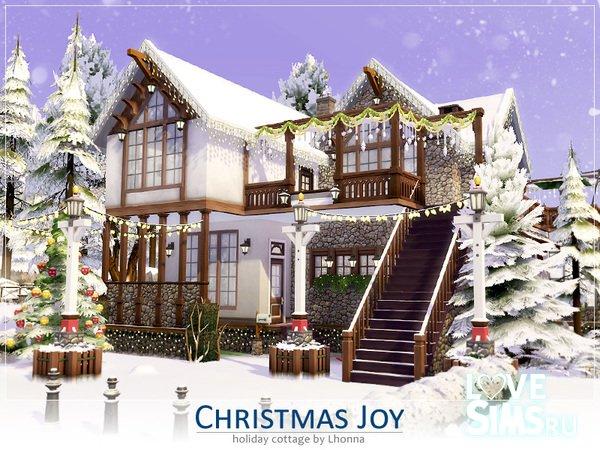 Коттедж Christmas Joy от Lhonna