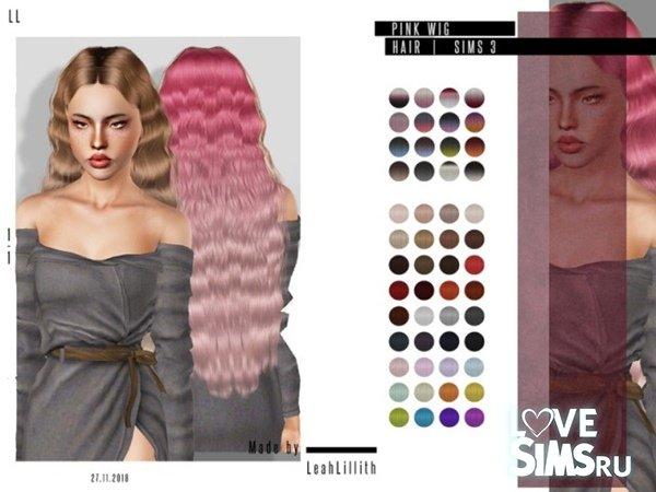 Прическа Pink Wig от LeahLillith