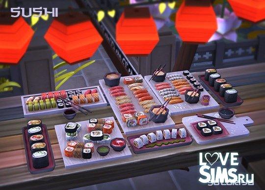 Суши и роллы от Soloriya